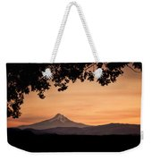 Mt. Hood At Sunset Weekender Tote Bag