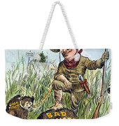 T. Roosevelt Cartoon, 1909 Weekender Tote Bag