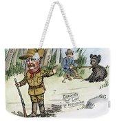 T. Roosevelt: Teddy Bear Weekender Tote Bag