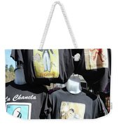 T Shirt Display Day Of Dead Weekender Tote Bag