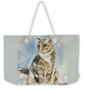 Tabby Cat Weekender Tote Bag