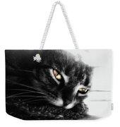 Tabby Cat Selective Color Weekender Tote Bag