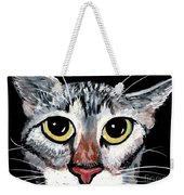 Tabby Eyes Weekender Tote Bag
