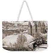 Tabernacle And Temple Weekender Tote Bag