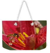 Table For One Weekender Tote Bag