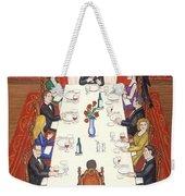 Table For Ten Weekender Tote Bag
