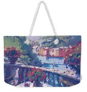 Table For Two In The Mix Weekender Tote Bag