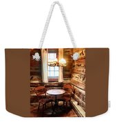 Table In The Corner Weekender Tote Bag