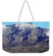 Table Mountain In The Clouds Weekender Tote Bag