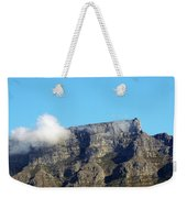 Table Mountain - Still Life With Blue Sky And One Cloud Weekender Tote Bag