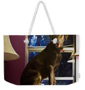 Table Ornament Weekender Tote Bag
