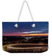 Table Rock Lake Night Shot Weekender Tote Bag