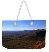 Table Rock Mountain From Caesars Head State Park In Upstate South Carolina Weekender Tote Bag