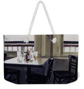 Table Setting Weekender Tote Bag