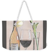 Table Setting For One Weekender Tote Bag