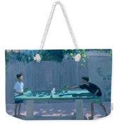 Table Tennis Weekender Tote Bag