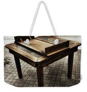 Table That Thought. This Beautiful Weekender Tote Bag