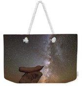 Table Top Milky Way Weekender Tote Bag