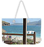 Table With A View Weekender Tote Bag