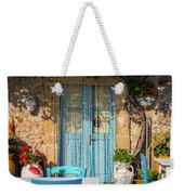Tables In A Traditional Italian Restaurant In Sicily, Italy Weekender Tote Bag