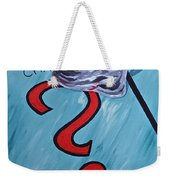 Tacking A Chance Two Weekender Tote Bag