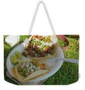 Taco Weekender Tote Bag