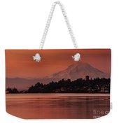 Tacoma Bay Mount Rainier Sunrise Weekender Tote Bag