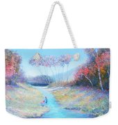 Tadpoling By The River Weekender Tote Bag