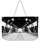 Taftsville Covered Bridge Weekender Tote Bag