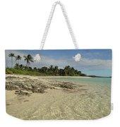 Tahiti Beach,bahamas. Weekender Tote Bag