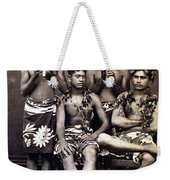 Tahiti: Men, C1890 Weekender Tote Bag