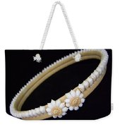 Tahitian Sea Shell Haku Weekender Tote Bag