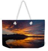 Tahoe Sunset Luminosity Weekender Tote Bag