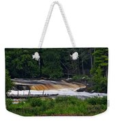Tahquamenon Lower Falls Upper Peninsula Michigan 04 Weekender Tote Bag