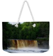 Tahquamenon Lower Falls Upper Peninsula Michigan 10 Weekender Tote Bag