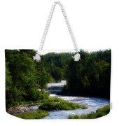Tahquamenon Lower Falls Upper Peninsula Michigan 12 Weekender Tote Bag