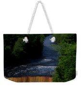 Tahquamenon Lower Falls Upper Peninsula Michigan Vertical 07 Weekender Tote Bag