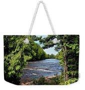 Tahquamenon River Weekender Tote Bag