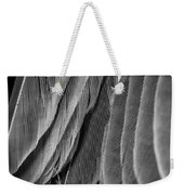 Tail Feathers Abstract Weekender Tote Bag