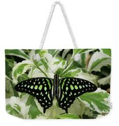 Tailed Jay Butterfly #2 Weekender Tote Bag
