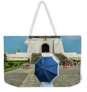 Taipei Lady Umbrella Weekender Tote Bag