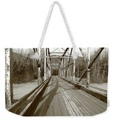 Taiya River Bridge #1 Weekender Tote Bag
