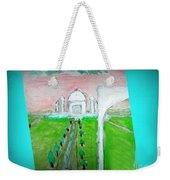 Taj Mahal Noon Weekender Tote Bag