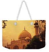 Taj Mahal Sunset Weekender Tote Bag