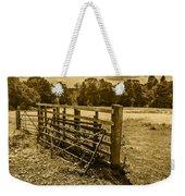 Take A Fence Weekender Tote Bag