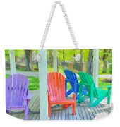 Take A Seat But Don't Take A Chair Weekender Tote Bag