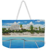 Take Me To La Samanna Weekender Tote Bag