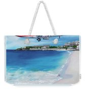 Take Me To Sxm- Poster Weekender Tote Bag