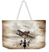 Take Me To The Pilot Weekender Tote Bag by Bill Cannon