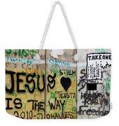 Take One Weekender Tote Bag